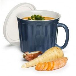 Cană pentru supă Sagaform 500 ml, albastru