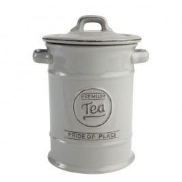 Recipient din ceramică pentru ceai T&G Woodware Pride of Place, gri