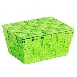 Coș cu capac Wenko Adria, verde