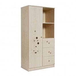 Dulap Faktum Mia Medvíek, decor lemn deschis