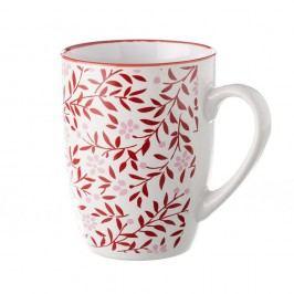Cană Unimasa Redos, 375 ml, roșu - alb