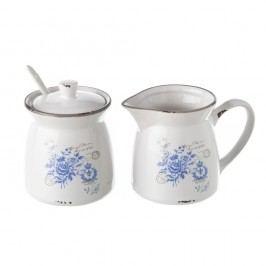 Set ceramic cu zaharniță și ulcior Unimasa Old Times