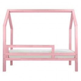 Protecție laterală pentru patul Benlemi Funny, roz