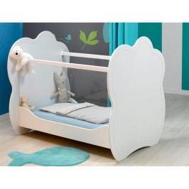 Pătuț pentru bebeluși BÉBÉ Provence Altea, 60 x 120 cm, alb