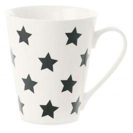 Cană din porțelan Miss Étoile Coffee Black Stars