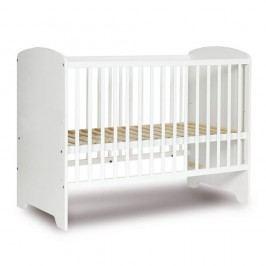 Pătuț alb pentru copii Faktum Poppi, 60 x 120 cm