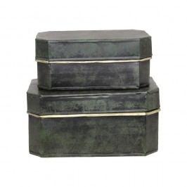 Set 2 cutii Strömshaga Antique