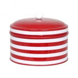 Recipient Strömshaga Dagny Stripes, roșu - alb
