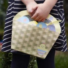 Set 4 coșulețe din hârtie Neviti Easter Chick