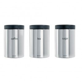 Set 3 recipiente Brabantia Kitchen, 500 ml