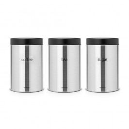 Set 3 recipiente Brabantia Storage, 500 ml
