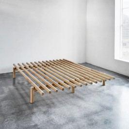 Cadru pat din lemn de pin Karup Pace, 140 x 200 cm