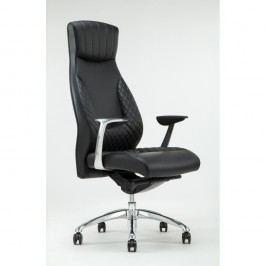 Scaun rotativ de birou RGE Luxe, negru