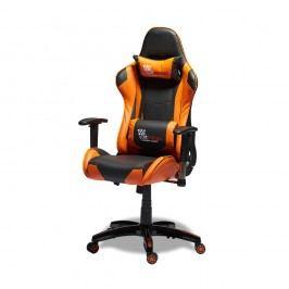 Scaun de birou Knuds Gaming, portocaliu - negru