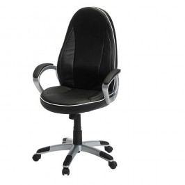 Scaun de birou Knuds Speedy 4, negru-alb