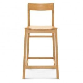 Scaun de lemn pentru bar Fameg Rikke