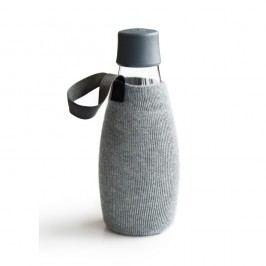 Husă pentru sticlă cu garanție pe viață ReTap, 500 ml, gri