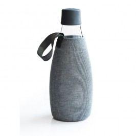 Husă pentru sticlă cu garanție pe viață ReTap, 800 ml, gri