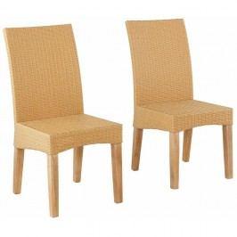 Set 2 scaune Støraa Matrix, bej
