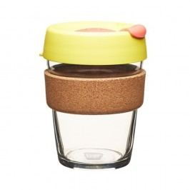 Cană de voiaj KeepCup Brew Cork Edition Safron, 340 ml
