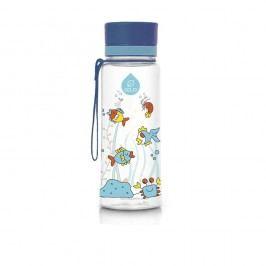 Sticlă din plastic Equa Equarium, 0,6 l, albastru