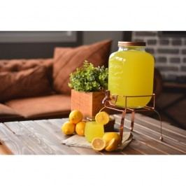 Recipient din sticlă pentru limonadă Bambum, 4 l