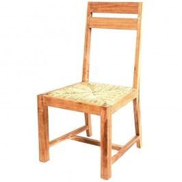Scaun din lemn de tec de grădină Massive Home Ronda