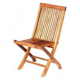 Scaun de grădină, pliant, din lemn de tec Massive Home Naomi Derinne