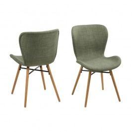 Set 2 scaune Actona Batilda, verde