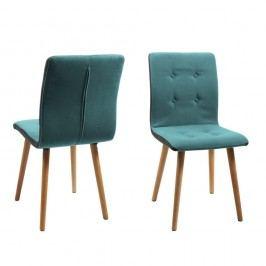 Set 2 scaune Actona Frida, albastru