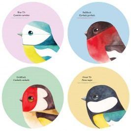 Set 4 suporturi bucătărie Gift Republic Birds