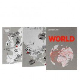 Jurnal pentru notițe pe hartă Palomar Transparent World