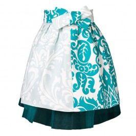 Șorț pentru copii Little Princess Tulle and Blue Ornaments