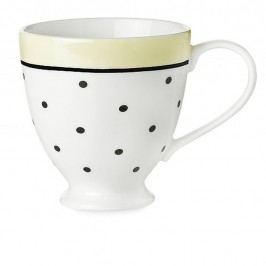 Cană ceramică Miss Étoile Black Dots And Lemon
