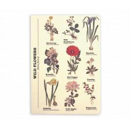 Agendă Gift Republic Wild Flowers, A5