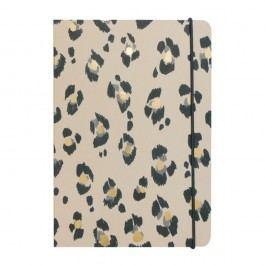 Agendă A5 Portico Designs Leopard, 160 file