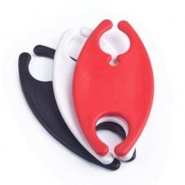 Set 3 suporturi de înfășurat cabluri Bobino® Cord Wrap, L, alb, negru și roșu