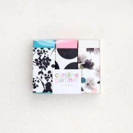 SEt 3 gume d eșters Caroline Gardner Rose Tinted Erasers