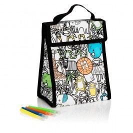 Geantă pentru prânz inscriptibilă și 4 pixuri NPW Lunch Bag