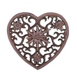 Suport în formă de inimă din fontă pentru recipiente fierbinți Antic Line