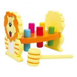 Jucărie din lemn Legler Lion