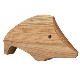 Decorațiune din lemn în formă de purceluș Javorina