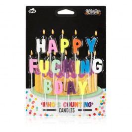 Set 16 lumânări pentru tort NPW Happy Birthday