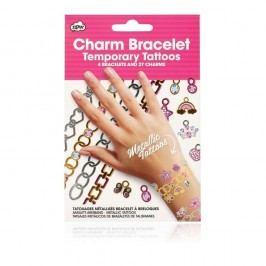Set tatuaje autoadezive pentru mâini NPW Charm Bracelet