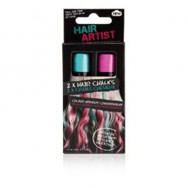 Set 2 crete pentru păr NPW Hair Chalk Pink And Green