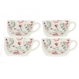 Set 4 suporturi pentru pliculețe de ceai Duo Gift Roses