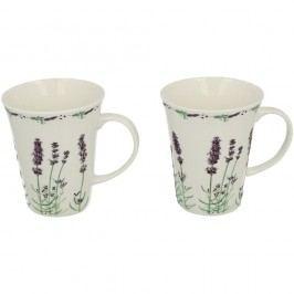 Set 2 căni din porțelan Duo Gift Lavender