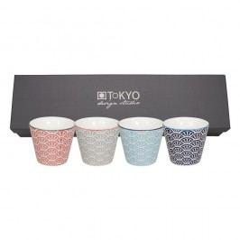 Set 4 cești Tokyo Design Studio Shiki, 85 ml