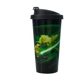 Cană de călătorie LEGO® Star Wars Yoda, 500 ml