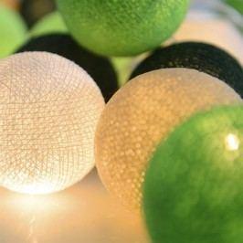 Șirag luminos Irislights Wasabi, 20 beculețe